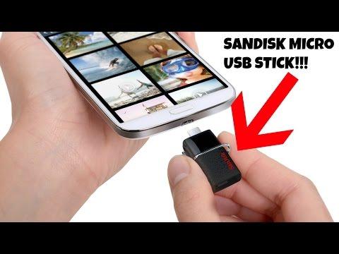 Sandisk Micro Usb Stick.
