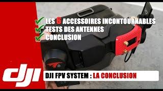 DJI FPV SYSTEM : 6 ACCESSOIRES POUR ENFIN UNE LUNETTE FPV ULTIME? MON AVIS !