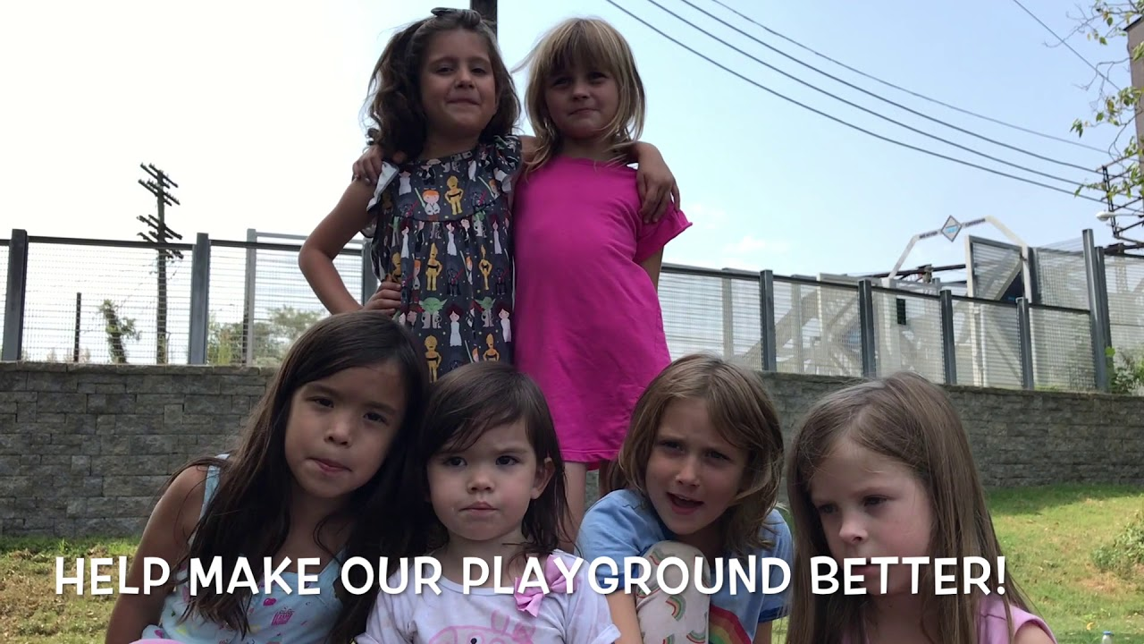 Kids want a better playground!
