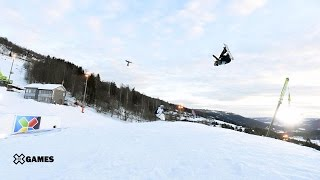 Anna Gasser Wins Womens Snowboard Slopestyle Gold   X Games Norway 2017