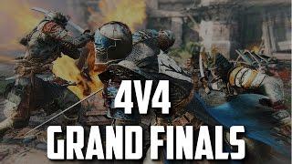 For Honor   4v4 High Level Grand Finals (ft. iSkys, KingRichard15, SypherPK, KinseyMister)