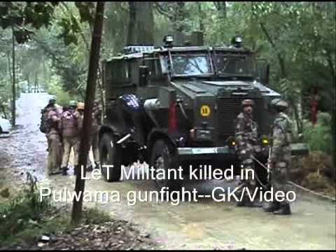 Militant Killed in Pulwama Shooting: Police