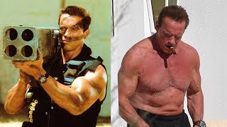 Commando Cast Then and Now, Arnold Schwarzenegger