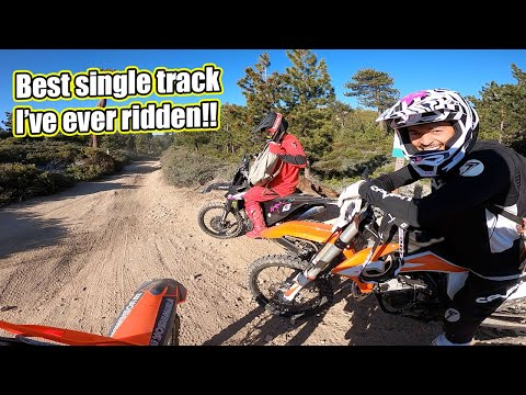 Cole Seely en mode enduro en Californie
