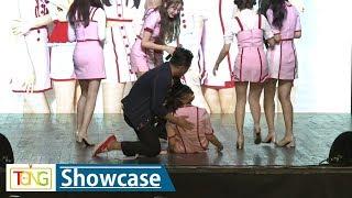 SHASHA(샤샤) 중국인 멤버 완린, 쇼케이스 도중 갑자기 쓰러져 (WHAT THE HECK, Showcase)