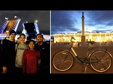 Best Way To See St Petersburg? BIKE AT NIGHT TOUR!