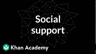 Social support | Individuals and Society | MCAT | Khan Academy