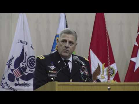 Army chief of staff to cadets: Learn from the past
