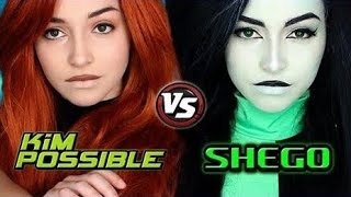 Kim Possible Live-Action | Kim And Shego Makeup Tutorial