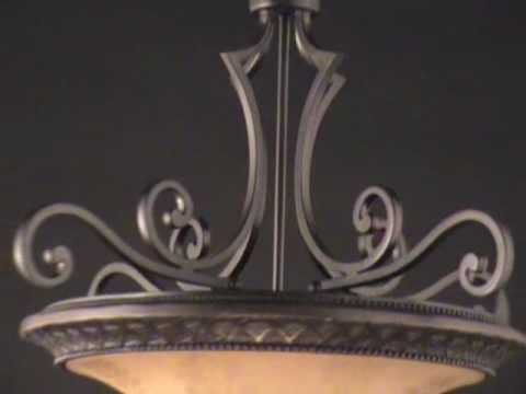 Video for Symphony Oil Rubbed Bronze Three-Light Chandelier