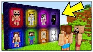 NON ENTRARE NELLE DIMENSIONI DEGLI YOUTUBER! - Minecraft ITA