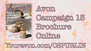 AVON CAMPAIGN 13 ONLINE BROCHURE