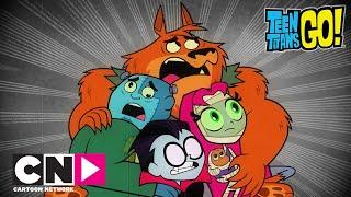 Юные Титаны, вперед! | Настоящие монстры | Cartoon Network