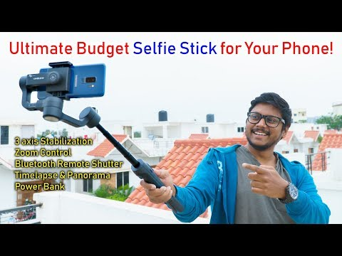 Budget Selfie Stick with 3 axis Stabilization for Your Smartphone !?