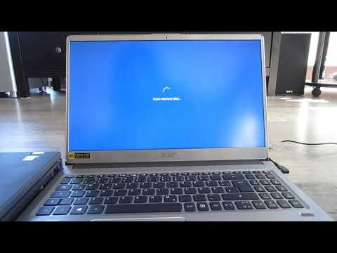 Acer Swift 3 Unboxing und Ersteinrichtung Windows 10 - Erste Schritte