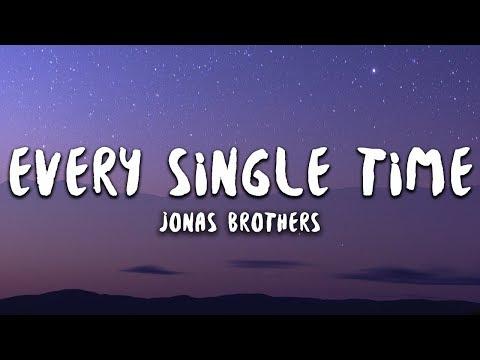 Jonas Brothers - Every Single Time (Lyrics)