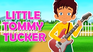 Little Tommy Tucker Nursery Rhyme || Popular Nursery Rhymes With Max And Louie
