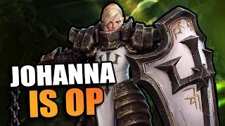 Johanna is OP now // Heroes of the Storm