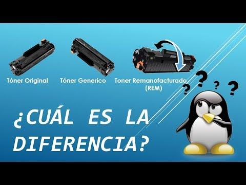 Toner HP Original, Genérico, Remanofacturado, ¿cuál es su diferencia?