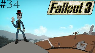 Fallout 3 Episode 34 Exploring the Wasteland and Finding the Nuka Cola Fan