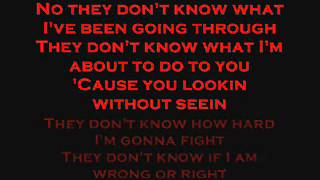 DMX - Lookin Without Seein (Lyrics)