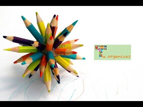 Bola de lápis de cor
