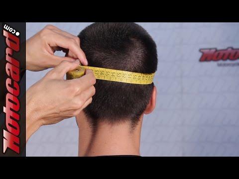 Encuentra tu talla de casco en Motocard.com