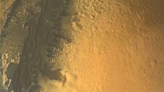Смотреть онлайн Момент посадки марсохода на Марс