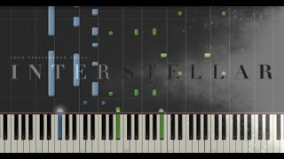 Interstellar - Main Theme - Hans Zimmer (Synthesia Piano Tutorial)
