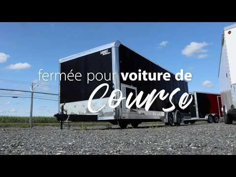 Visitons la remorque pour voiture de course Look Trailers