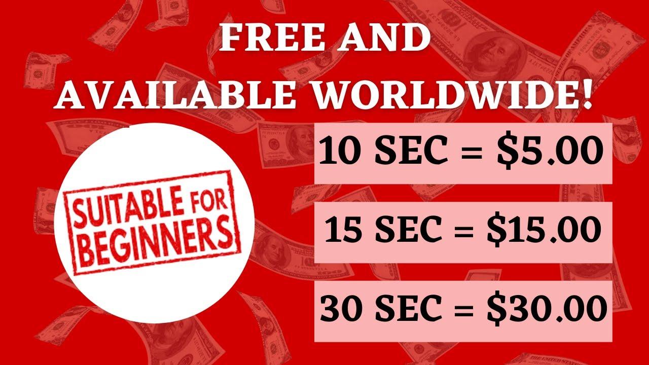 Make money Every 10 Seconds $5.00 (Make Money Online 2021) thumbnail