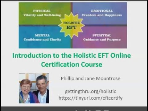 Introduction to Holistic EFT Certification Course Training - YouTube