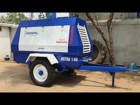 Portable Diesel Engine Driven Air Compressor