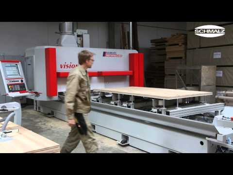 Loading of Your Wood Working CNC Machine.