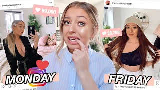 Changing my STYLE on Instagram EVERYDAY for a WEEK!