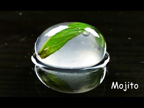 Mojito Molecular Gastronomy