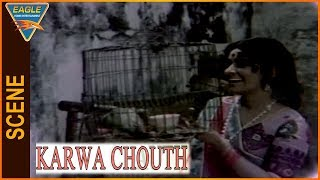 Karwa Chouth Hindi Movie || Kanan Kaushal Best Scene