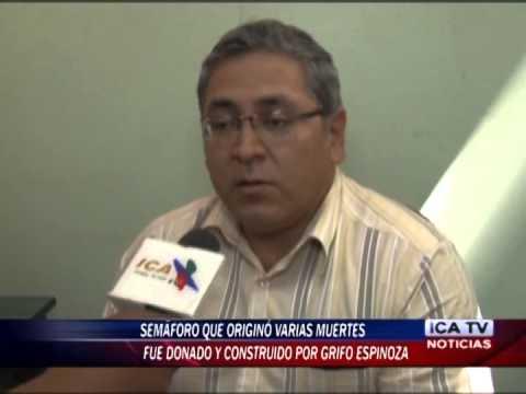 SEMÁFORO EN PANAMERICANA FUE INSTALADO POR GRIFO