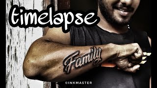FAMILY TATTOO | TATTOO TIMELAPSE | FREELANCE TATTOO| KOCHI TATTOO | INKMASTER