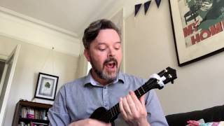 Brüko flat black soprano (via UKE Magazine) playing 'Anytime' Arlo Guthrie cover