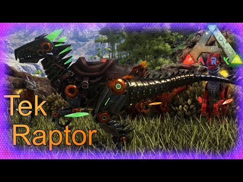 The NEW TEK Raptor and Corrupted Pants SPAWN commands | Ark