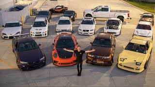 FULL TOUR OF MY CAR COLLECTION!
