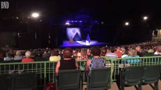 Protesters interrupt Muny production