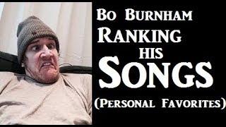Bo Burnham Songs Ranked