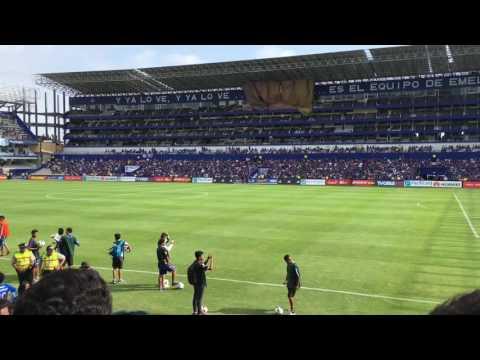 """""""Emelec 3 fuerza amarilla 1 previa boca del pozo"""" Barra: Boca del Pozo • Club: Emelec"""