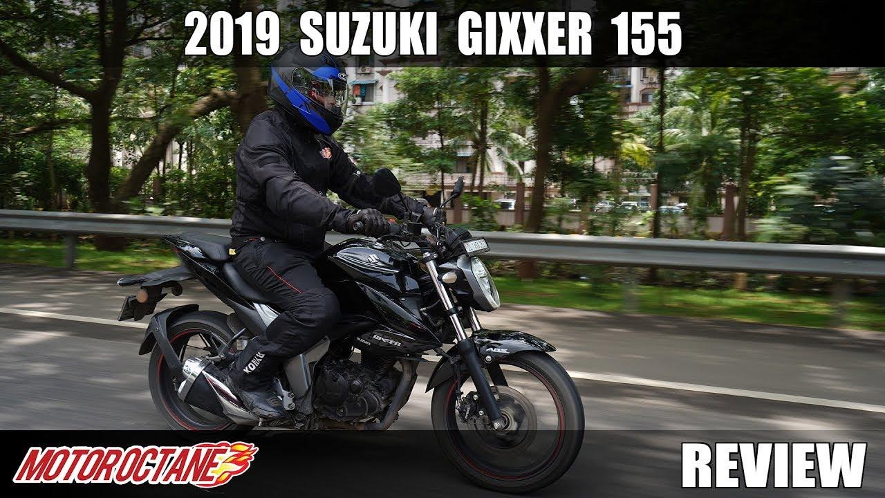 Motoroctane Youtube Video - 2019 Suzuki Gixxer 155 Review | Hindi | Motoroctane