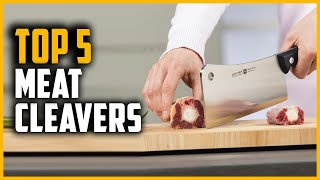 Best Meat Cleavers 2021 | Top 5 Meat Cleaver for Cutting Bone