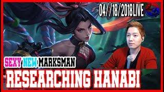 [ENG/KOR] New Markman Hanabi playing!! North America Marksman Player Gosu General