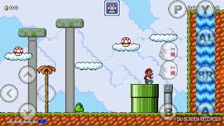 Jugando Mario 4 Jugadores