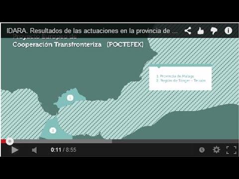 IDARA. Résultats du projet européen dans la Province de Malaga et la Région Tanger-Tétouan
